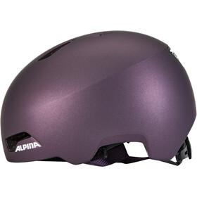 Alpina Hackney Kask Dzieci, dark-violet